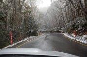 droga w zimie