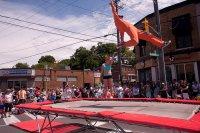 show na trampolinach