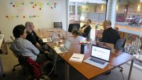 spotkanie informacyjne w firmie